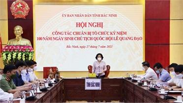 Hoàn tất chuẩn bị kỷ niệm 100 năm Ngày sinh Chủ tịch Quốc hội Lê Quang Đạo