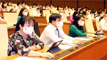 Quyết định cơ cấu số lượng thành viên Chính phủ gồm 27 thành viên