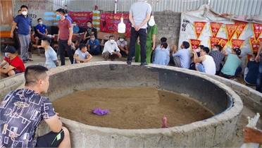 Hiệp Hòa bắt quả tang 34 đối tượng tổ chức đá gà sát phạt nhau