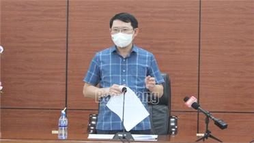 Huyện Sơn Động cần khắc phục ngay hạn chế trong phòng dịch, đẩy mạnh thu hút dự án đầu tư