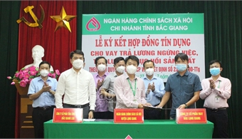 19 billion VND disbursed for workers' salary to support production recovery