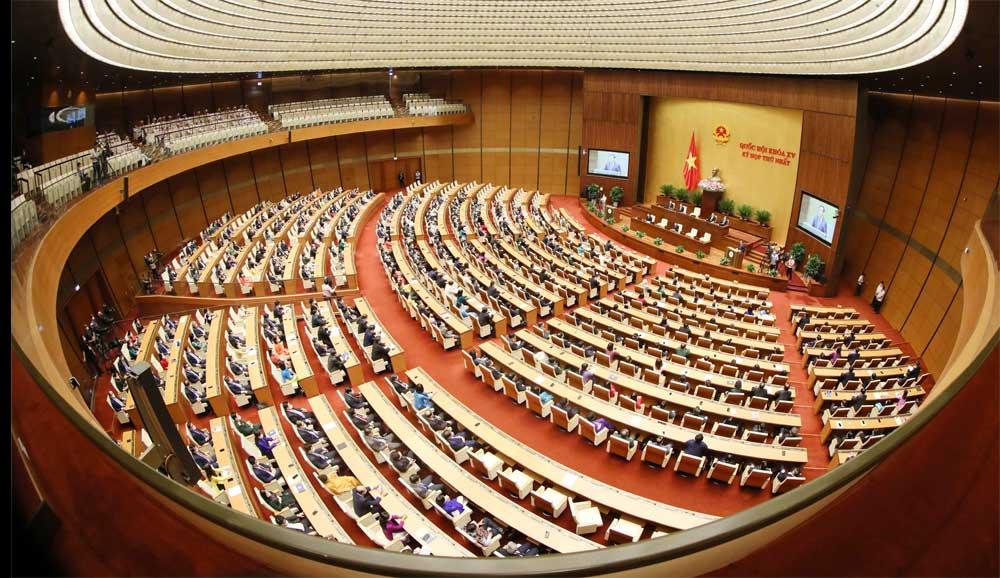 Bế mạc , Kỳ họp thứ nhất , Quốc hội khóa XV