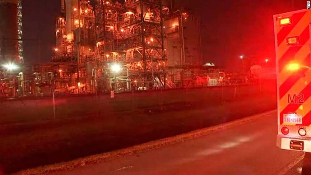 ngộ độc , vụ rò rỉ hóa chất, bang Texas (Mỹ)