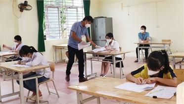 Năm học 2021-2022, Trường THCS Lê Quý Đôn tuyển 150 học sinh lớp 6