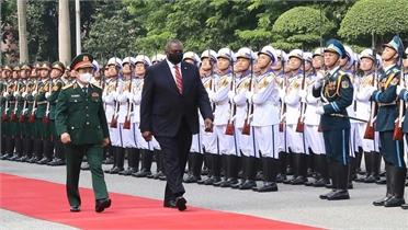 Bộ trưởng Quốc phòng Hợp chúng quốc Hoa Kỳ thăm chính thức Việt Nam
