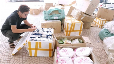 Thêm 13 nghi phạm bị bắt vì lừa tiền hàng nghìn người bán mỹ phẩm