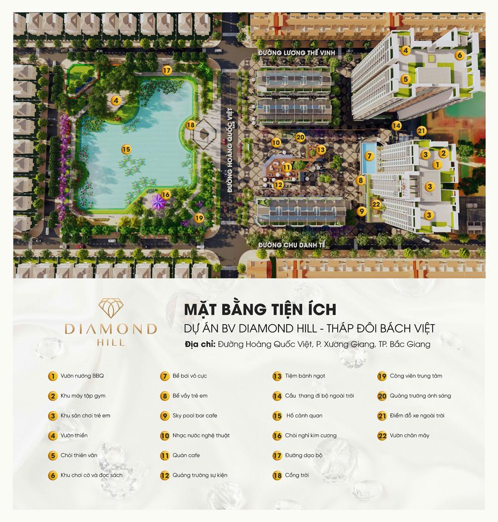 An cư, viên mãn, gia đình đa thế hệ,  căn hộ 3 ngủ, BV Diamond Hill Bắc Giang, Bách Việt, chung cư