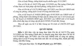Kết thúc thực hiện Chỉ thị 16 về phòng, chống dịch tại xã Song Mai