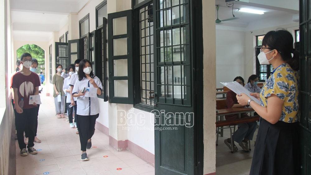 Bắc Giang, thi tuyển sinh lớp 10, trường Chuyên, giáo dục