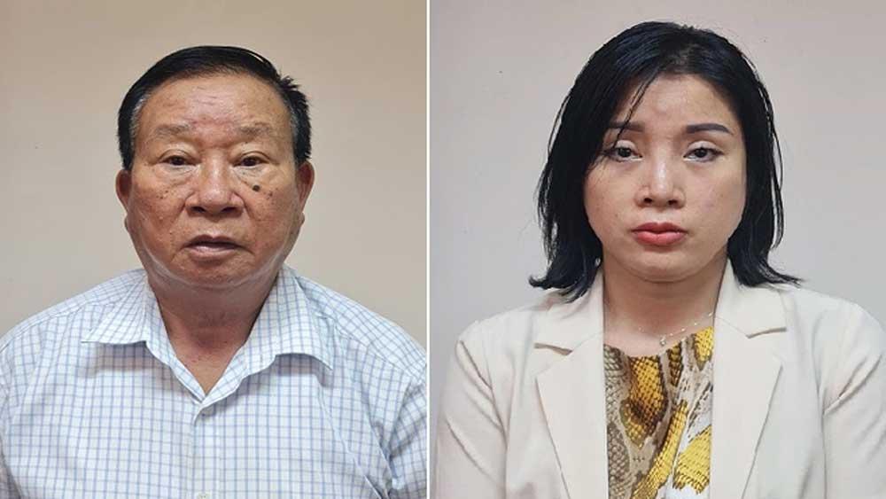 Sai phạm, Bệnh viện Tim Hà Nội, Bắt giám đốc, kế toán trưởng, một công ty