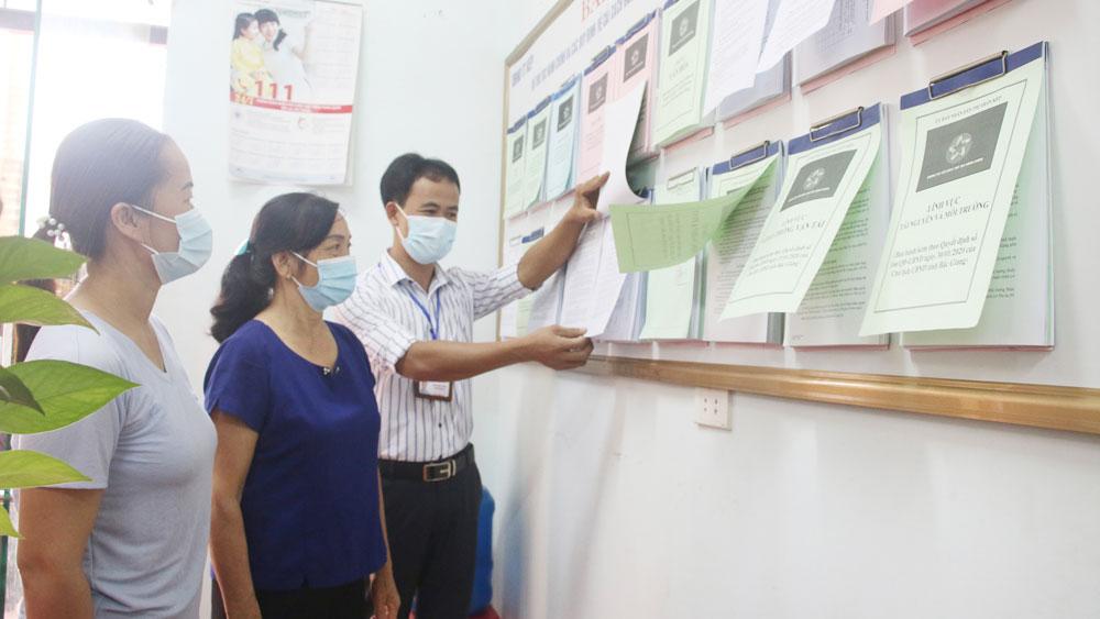 Lạng Giang, Bắc Giang, cải cách hành chính, một cửa cấp xã