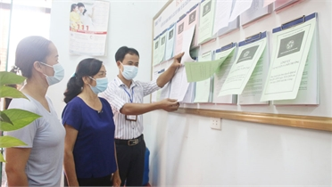"""Lạng Giang: Nhiều giải pháp nâng cao hiệu quả bộ phận """"một cửa"""" cấp xã"""