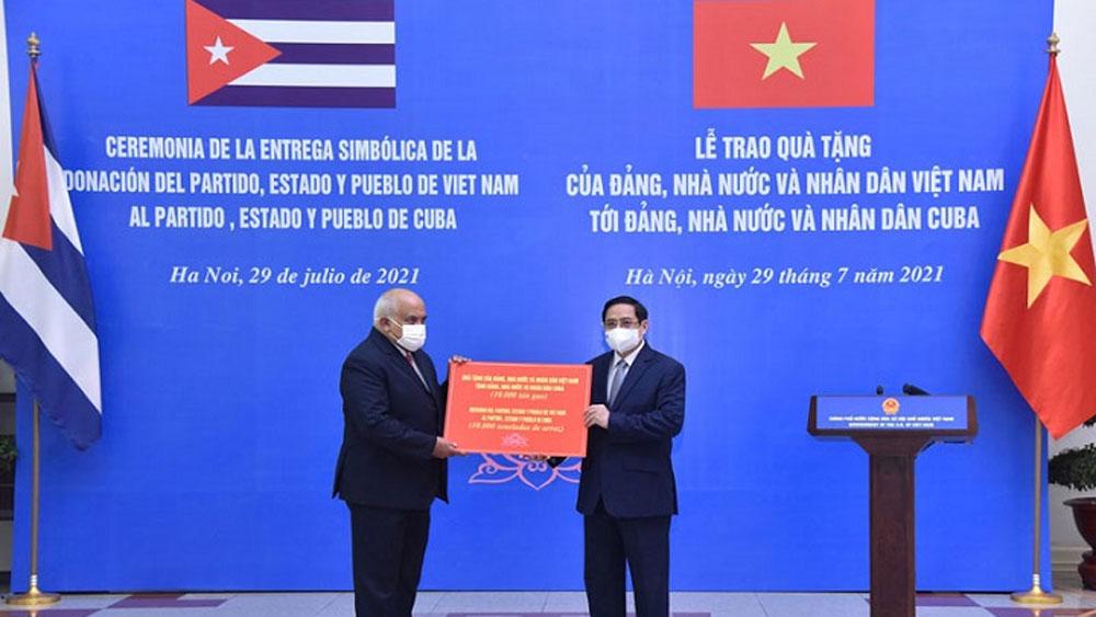 Vietnam offers 10,000 tonnes of rice to Cuba