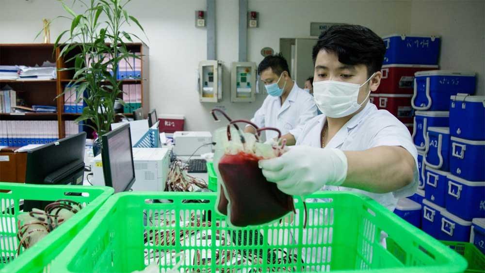 Chuyển 1.000 đơn vị máu , TP Hồ Chí Minh, trong đêm