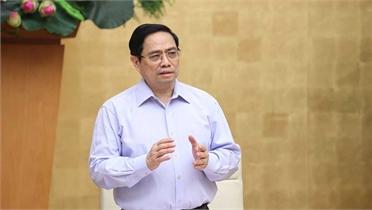 Thủ tướng Phạm Minh Chính: Cần có nhận thức và giải pháp mới trong chống dịch Covid-19