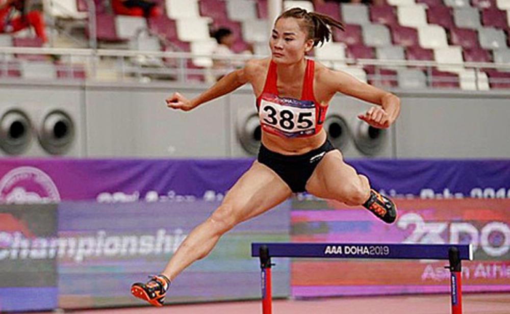 Nhật Bản,điền kinh,Olympic 2020,Quách Thị Lan,400m rào nữ