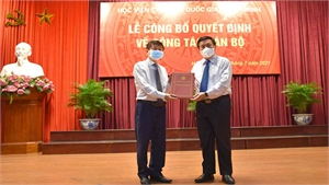 Học viện Báo chí và Tuyên truyền có tân Giám đốc