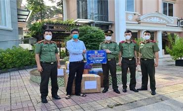 Đoàn Công an tỉnh Bắc Giang đã có mặt tại TP Hồ Chí Minh và tỉnh Bình Dương