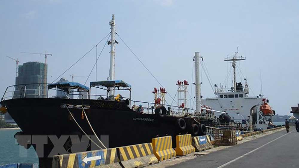 Mỹ, tịch thu, tàu được sử dụng, chở dầu cho Triều Tiên