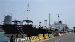 Mỹ tịch thu tàu được sử dụng để chở dầu cho Triều Tiên