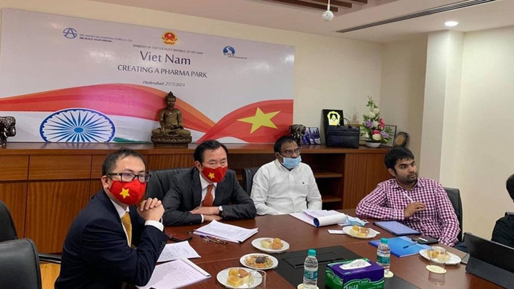 Ấn Độ , đầu tư, công viên dược phẩm, nửa tỷ USD, Việt Nam