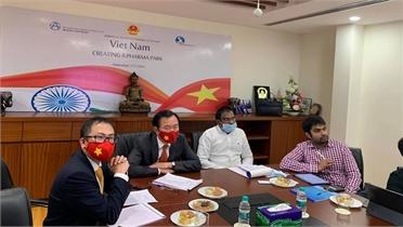 Ấn Độ muốn đầu tư 'công viên dược phẩm' nửa tỷ USD tại Việt Nam