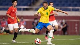 Brazil đấu Mexico ở bán kết bóng đá nam Olympic