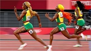 Jamaica đoạt trọn bộ huy chương chạy 100m nữ
