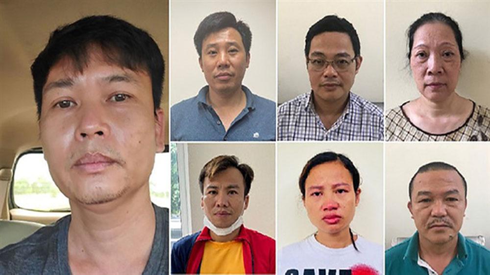 Khởi tố , vụ án,  7 bị can, vụ nâng khống giá trị cây xanh ở Hà Nội