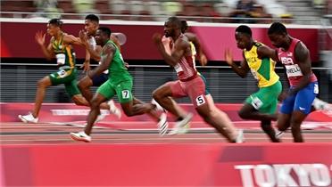 Chân chạy nhanh nhất thế giới bị loại sốc ở bán kết 100m
