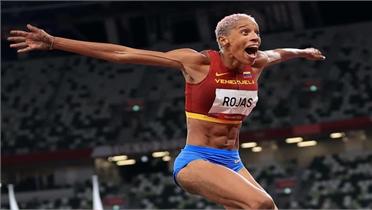 VĐV Venezuela phá sâu kỷ lục thế giới nhảy ba bước