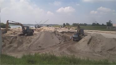 Bến, bãi ven sông: Không phép vẫn... hoạt động