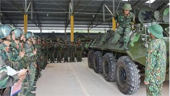 Quân Đoàn 2 khắc ghi lời dặn của Đại tướng