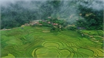 Northern minority village embroided with charm