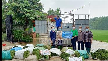 Bắc Giang: Tiếp tục ủng hộ các tỉnh, TP chống dịch Covid-19