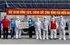Đoàn xe chở hàng hỗ trợ TP Hồ Chí Minh và tỉnh Đồng Nai chống dịch trở về an toàn