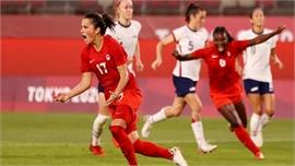 Mỹ bị loại ở bán kết bóng đá nữ Olympic
