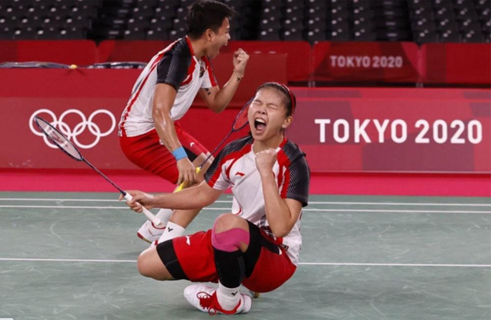 Nhật Bản,Indonesia,HC vàng,Olympic Tokyo,Cầu lông,Đôi nữ