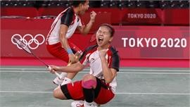 Indonesia hạ Trung Quốc ở chung kết cầu lông đôi nữ Olympic