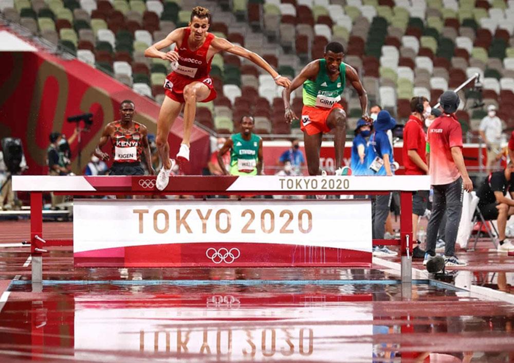Nhật Bản,Olympic Tokyo 2020,Soufiane el-Bakkali,chạy 3000m vượt chướng ngại vật