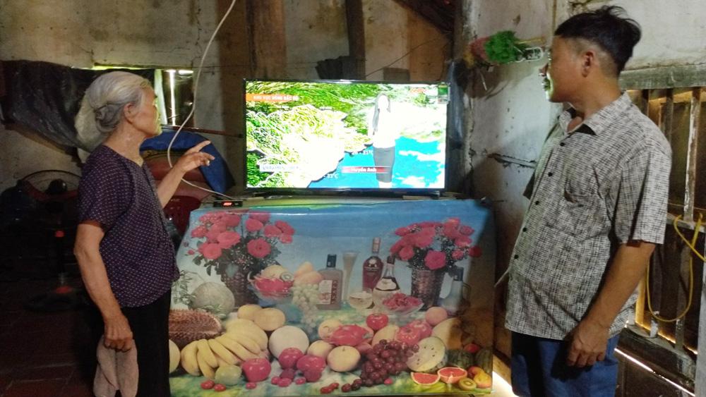 Viễn thông công ích, truyền hình tương tự mặt đất, đầu thu truyền hình số mặt đất, Bắc Giang