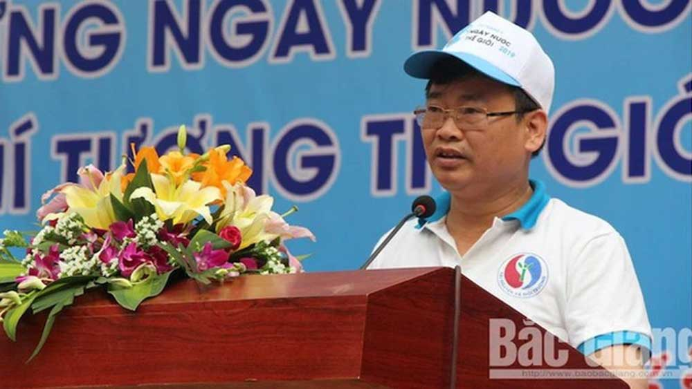 Kỷ luật cảnh cáo, Phó Giám đốc Sở Tài nguyên và Môi trường tỉnh Bắc Giang,