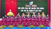 Hội LHPN huyện Yên Dũng xác định 3 nhiệm vụ trọng tâm nhiệm kỳ 2021 - 2026