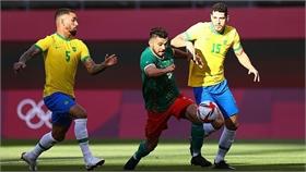 Brazil vào chung kết Olympic sau loạt luân lưu