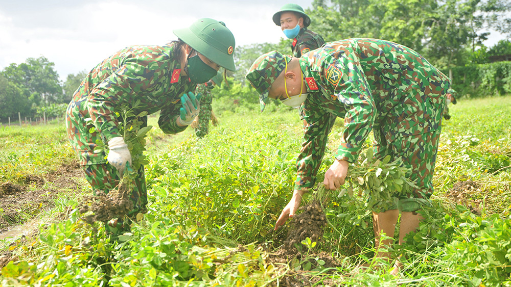 Lực lượng vũ trang tỉnh Bắc Giang, Bộ CHQS tỉnh Bắc Giang, bộ đội, chiến sĩ