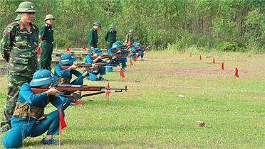 """Lực lượng vũ trang tỉnh Bắc Giang thi đua thực hiện 5 chuẩn mực """"Bộ đội Cụ Hồ"""""""