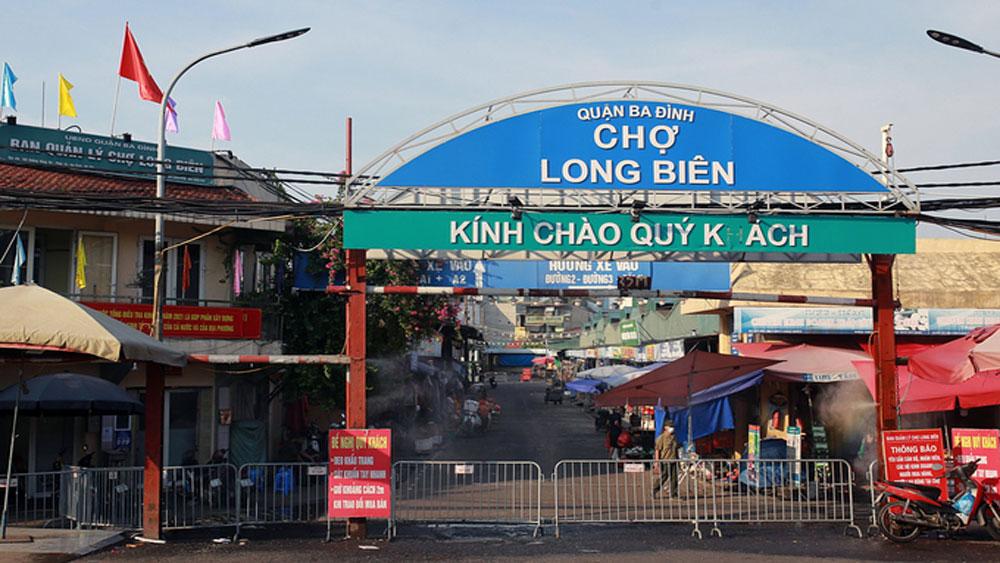Hanoi, locks down, largest wholesale market, Covid-19 pandemic, vendor households, delivery person, novel coronavirus