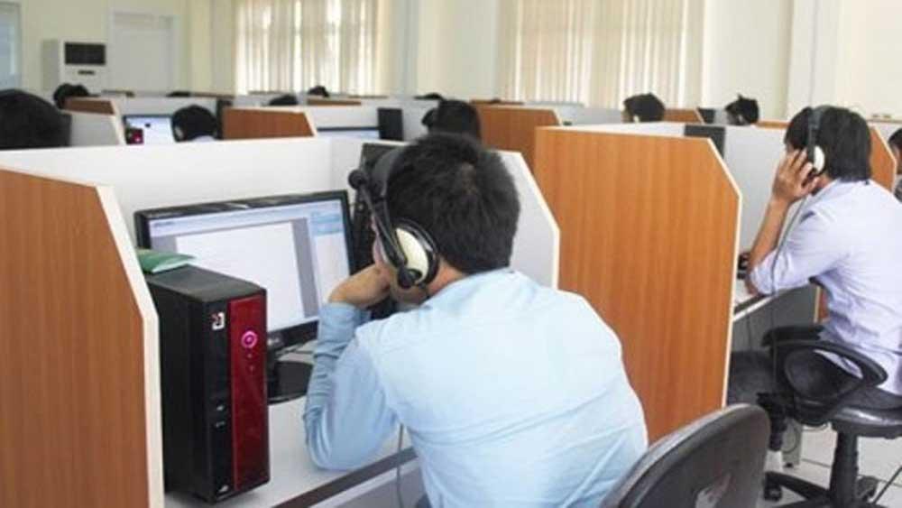 Tổ chức, thi trực tuyến tiếng Hàn, năm 2021, lao động EPS, đúng hạn