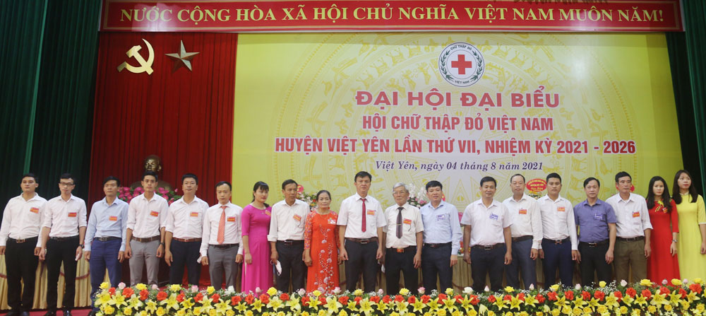 Bắc Giang, chữ thập đỏ, đại hội, Việt Yên