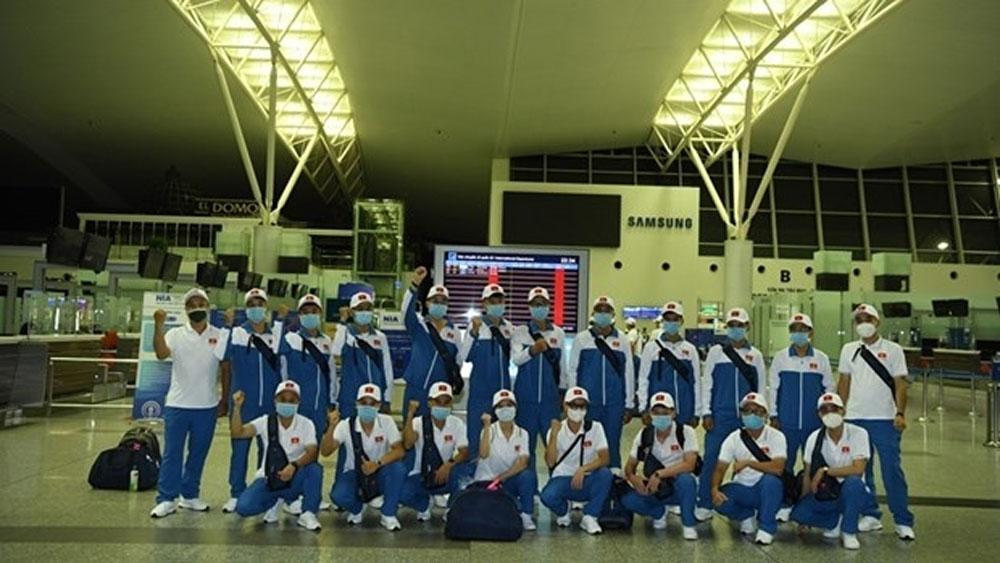 Vietnam, army team, arrives in Russia, International Army Games, Vietnam People's Army, Vietnamese team, best results